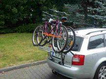 Aguri Advans 2 darabos emelt sínes kerékpártartó csomagtérajtóra