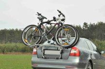 Aguri Advans 3 darabos emelt sínes kerékpártartó csomagtérajtóra