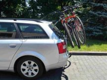 Aguri Tour 2 darabos kerékpártartó csomagtérajtóra