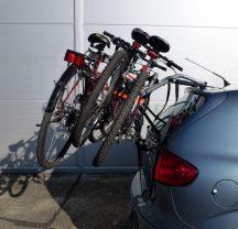 Aguri Spider 3 darabos kerékpártartó csomagtérajtóra