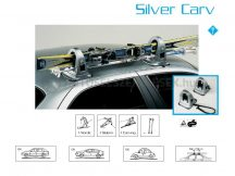 CAM Silver Carv 1372/A 1372/a Mágneses síléctartó