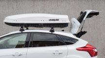 Farad Zeus 480 fehér metál tetőbox