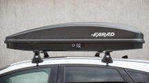 Farad Crub 430 - nagy teherbiras, premium tetőbox