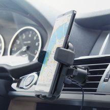 iOttie Easy One Touch 4 Qi telefontartó szellőző rostélyba Wireless töltéssel