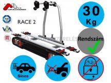 Menabo Race 2 darabos kerékpártartó vonóhorogra