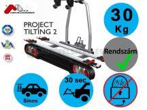 Menabo Tilting 2 darabos kerékpártartó vonóhorogra