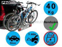 ProUser Silverbike 2 darabos kerékpártartó vonóhorogra