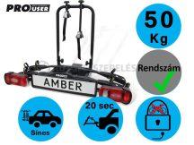 ProUser Amber 2 darabos kerékpártartó vonóhorogra