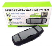 Spy+ GPS detektor, radar jelző