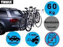 Thule HangOn 9708 4 darabos kerékpártartó vonóhorgra