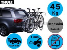 Thule HangOn 972 3 darabos dönthető Kerékpártartó Vonóhorgra