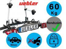 Uebler F22 2 darabos kerékpártartó vonóhorogra