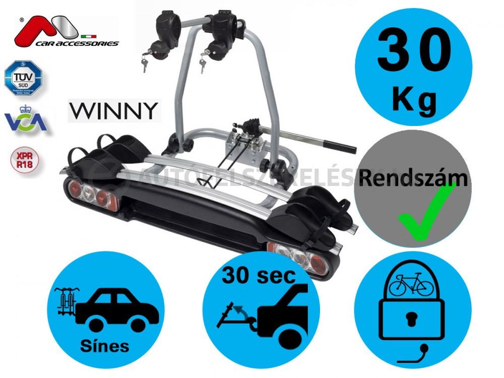 Menabo Winny2 Kerékpártartó Vonóhorgra